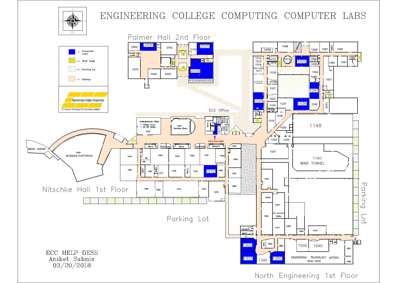 Ecc South Campus Map Map Of Ma